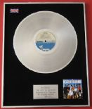 BLONDIE - The Best Of Blondie PLATINUM LP PRESENTATION Disc